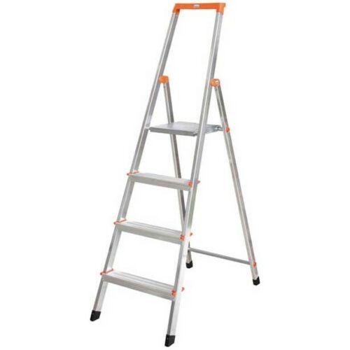 KRAUSE 126221 MONTO Solidy lépcsőfokos állólétra 4 fokos