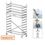 Krause 910097 Monto ProTec 4,30m alumínium gurulóállvány  /65kg;2,40m/