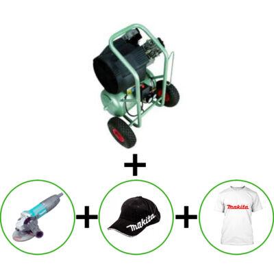 Hitachi EC138 Kompresszor+ ajándék Makita GA5030R sarokcsiszoló+ Makita sapka és poló