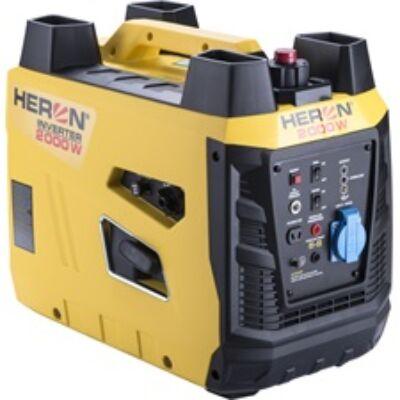 Heron benzinmotoros áramfejlesztő, 2 kVA, 230V, digitális szabályzású