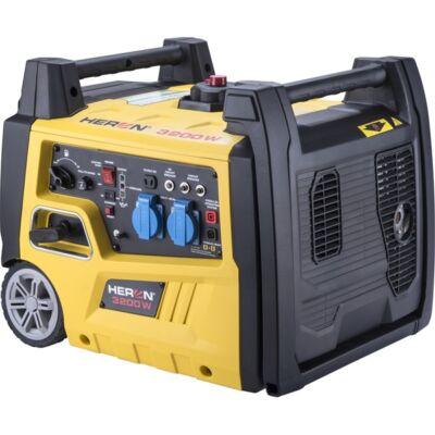 benzinmotoros áramfejlesztő, önidítóval 3,0 kVA, 230V, 1 fázisú, inverteres