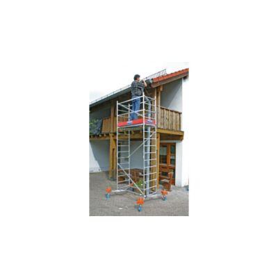 Krause 710116 + 710130 Monto ClimTec alumínium munkaállvány 5m-es munkaállvány  /54kg;2,21m/