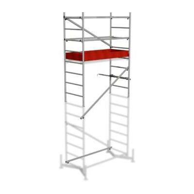 Krause 710130 Monto ClimTec alumínium munkaállvány I. magasítás (5m-ig)  /23kg;2,21m/