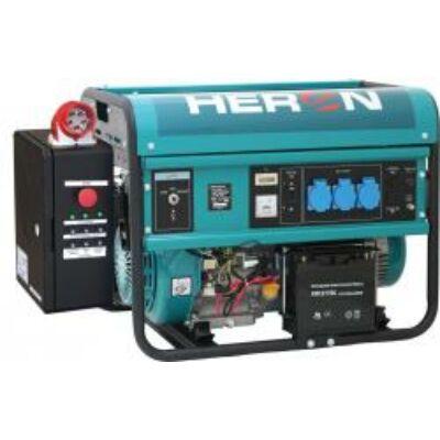 Benzinmotoros áramfejlesztő inditó automatikával (HAE-3/1), max 5500 VA, egyfázisú, (EGM-55 AVR-1E)