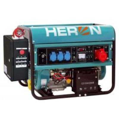 Benzinmotoros áramfejlesztő+HAE-3 indító automatika, max 6500 VA, háromfázisú (EGM-68 AVR-3E), önindítós