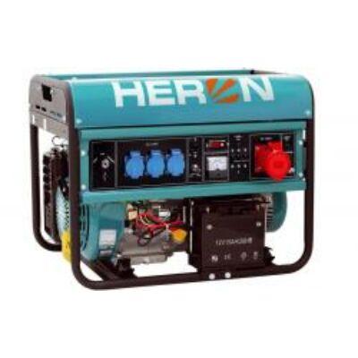 Benzinmotoros áramfejlesztő, max 6800 VA, háromfázisú (EGM-68 AVR-3E), önindítós