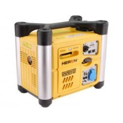 Benzinmotoros áramfejlesztő, 1,0kVA, 230V hordozható, szabályozott digitális kim.(DGI-10SP)