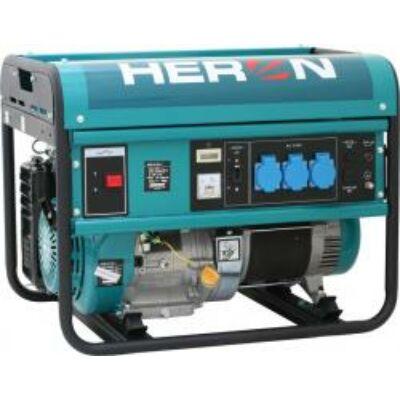 Benzinmotoros áramfejlesztő, max 5500 VA, egyfázisú (EGM-55 AVR-1)