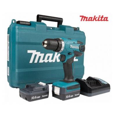 Makita DF347DWE 14,4v li-ion 30nm fúró,csavarbehajtó+2x1,3Ah akku+koffer