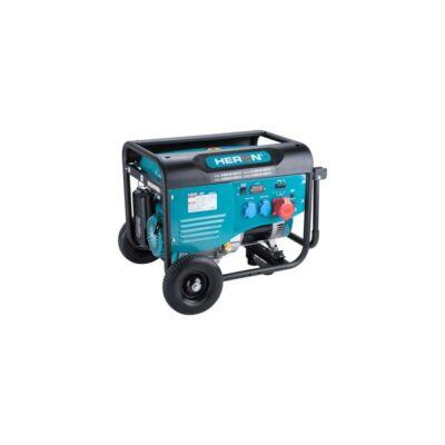 HERON benzinmotoros áramfejlesztő, max 6000 VA, háromfázisú (8896412)
