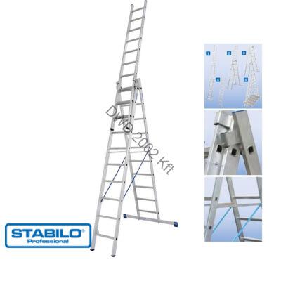 Krause 133762 Stabilo 3X10 fokos sokcélú létra lépcsőfunkcióval