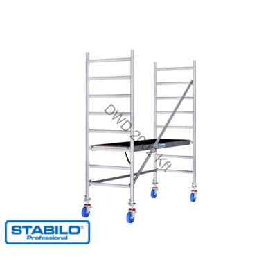 Krause 741301 Stabilo 10-es sorozat 3m-es gurulóállvány (2,50mx0,75m mezőhossz)  /53kg/