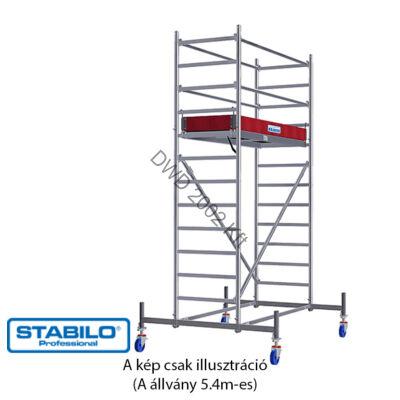 Krause 741325 Stabilo 10-es sorozat 5,40m-es gurulóállvány (2,50mx0,75m mezőhossz)  /117kg/