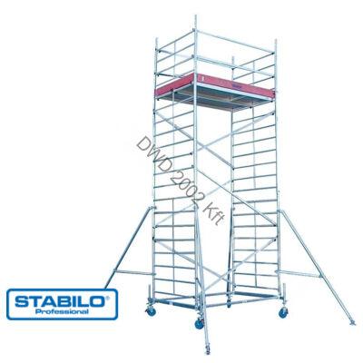 Krause 741332 Stabilo 10-es sorozat 6,40m-es gurulóállvány (2,50mx0,75m mezőhossz)  /131kg/