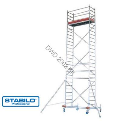 Krause 731357 Stabilo 10-es sorozat 8,40m-es gurulóállvány (2mx0,75m mezőhossz)  /172kg/