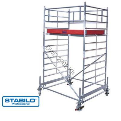 Krause 735058 Stabilo 500-as sorozat 4,40m-es gurulóállvány (2mx1,50m mezőhossz)  /151kg/