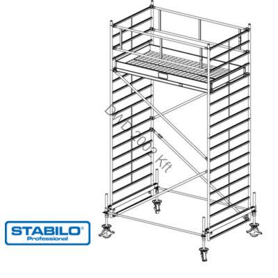 Krause 735065 Stabilo 500-as sorozat 5,40m-es gurulóállvány (2mx1,50m mezőhossz)  /166kg/