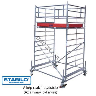 Krause 755667 Stabilo 500-as sorozat 6,40m-es gurulóállvány (3mx1,50m mezőhossz)  /218kg/