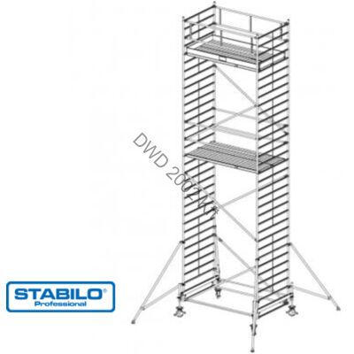 Krause 735102 Stabilo 500-as sorozat 9,40m-es gurulóállvány (2mx1,50m mezőhossz)  /287kg/
