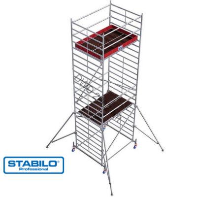 Krause 735249 Stabilo 50-es sorozat 7,40m-es gurulóállvány (2mx1,50m mezőhossz)  /239kg/