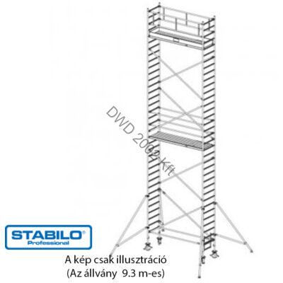 Krause 748096 Stabilo 1000-es sorozat 9,30m-es gurulóállvány (2,50mx0,75m mezőhossz)  /213kg/