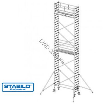 Krause 738103 Stabilo 1000-es sorozat 10,30m-es gurulóállvány (2mx0,75m mezőhossz)  /204kg/