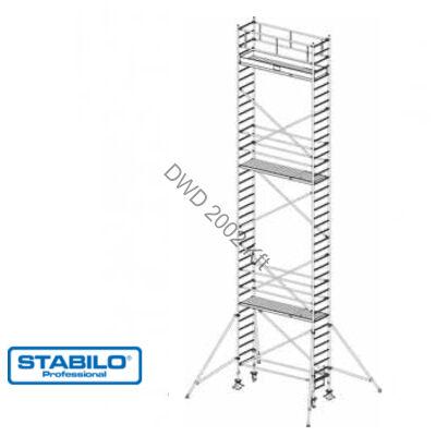Krause 738110 Stabilo 1000-es sorozat 11,30m-es gurulóállvány (2mx0,75m mezőhossz)  /232kg/