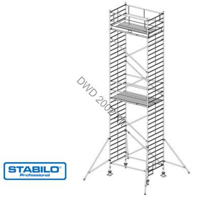 Krause 749109 Stabilo 5000-es sorozat 10,30m-es gurulóállvány (2,50mx1,50m mezőhossz)  /302kg/
