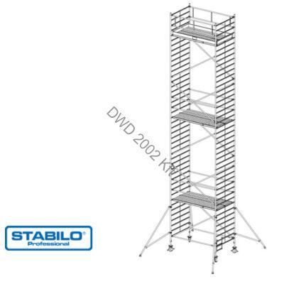 Krause 739124 Stabilo 5000-es sorozat 12,30m-es gurulóállvány (2mx1,50m mezőhossz)  /335kg/