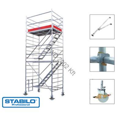 Krause 769015 Stabilo 5500-as sorozat 6,50m-es gurulóállvány (2mx1,50m mezőhossz)  /247kg/