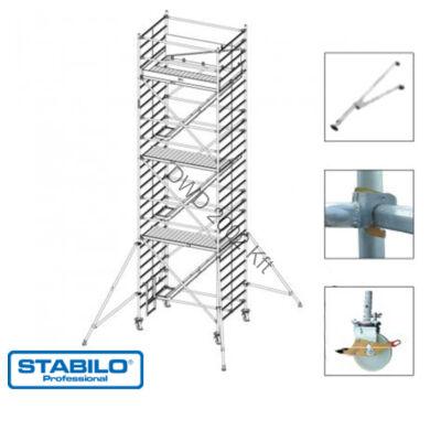 Krause 769022 Stabilo 5500-as sorozat 8,50m-es gurulóállvány (2mx1,50m mezőhossz)  /318kg/
