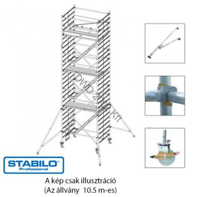 Krause Stabilo Gurulóállvány 5500-as sorozat 10,5m (2,0x1,5m) (profi) 769039