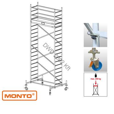 Krause 910141 Monto ProTec 6,30m alumínium gurulóállvány  /103kg;2,75m/