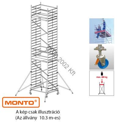 Krause 911186 ProTec XXL szélesített alumínium gurulóállvány 10.3 m