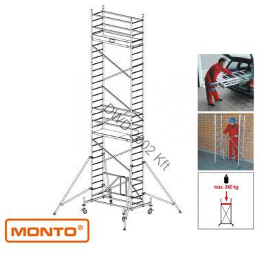 Krause 920065 Monto ProTec XS 8,8m alumínium univerzális gurulóállvány  /176kg;2,70m/
