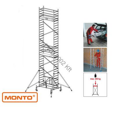 Krause 920072 Monto ProTec XS 9,8m alumínium univerzális gurulóállvány  /184kg;2,70m/