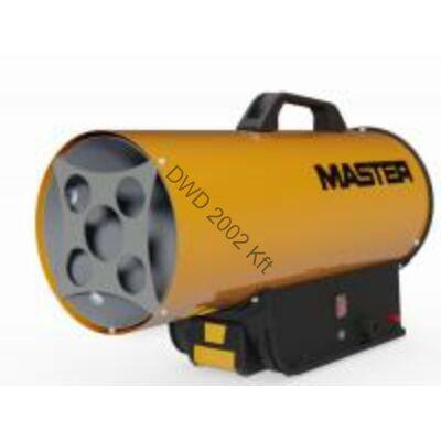 Hőlégfúvó Master BLP17M DC (PB-gázos 16kW) szett (akku+töltő)