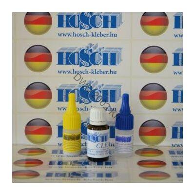 1 készlet HOSCH-KLEBER IPARI RAGASZTÓ ÉS GRANULÁTUM 20 grammos ragasztókészlet 15 ml ajándék felület kezelővel