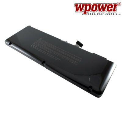 WPOWER A1382 laptop akkumulátor 4400mAh, utángyártott